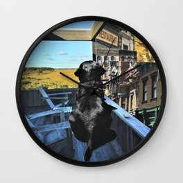 Dad's Memories Wall Clock