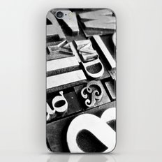 Metalpress iPhone & iPod Skin