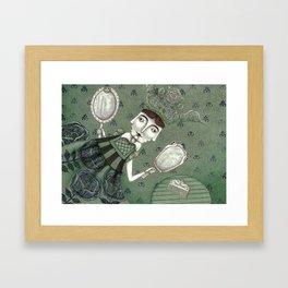 Schneewittchen-The New Queen Framed Art Print