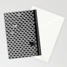 Abstract Wall Stationery Cards