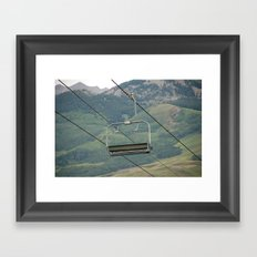 ski Framed Art Print