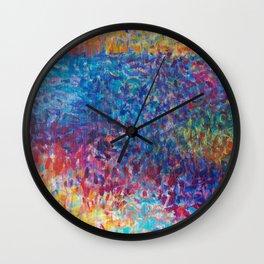 Vibrant Meadow Wall Clock