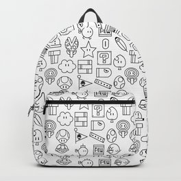 Super Mario PAttern Backpack