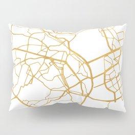 KIEV UKRAINE CITY STREET MAP ART Pillow Sham