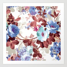The perfect flowers for me 2 Art Print