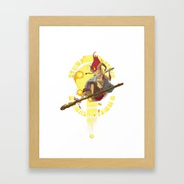 Childrens of the Stars: Aries Framed Art Print