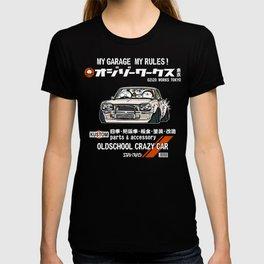Crazy Car Art 0126 T-shirt