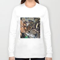 monty python Long Sleeve T-shirts featuring Python by GardenGnomePhotography
