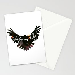 Raven Cycle Safe As Life Stationery Cards