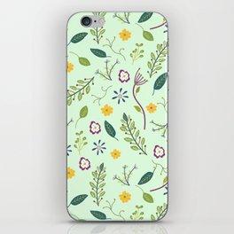Floral Greenery Pattern I iPhone Skin