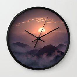Peace in the Valley Wall Clock