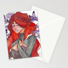 Fox Witch Stationery Cards