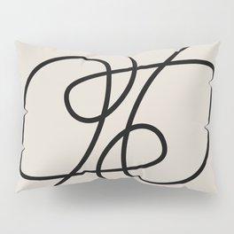 Modern Line Art Pillow Sham