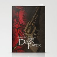 dark tower Stationery Cards featuring Dark Tower by JAGraphic