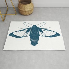 Snowberry Clearwing Moth Rug