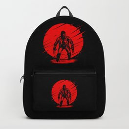 Red Logan Backpack