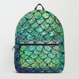 mermaid scales pattern Backpack