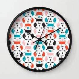 Crustaceans Wall Clock