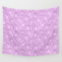 Purple anemones . Wall Tapestry