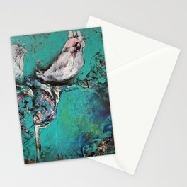 """My garden in Bangkok"" Stationery Cards"