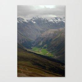 Sertig Valley Canvas Print