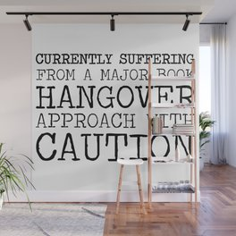 Book Hangover Wall Mural