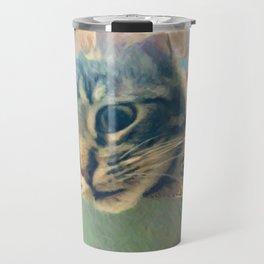 Curious Kitty Travel Mug