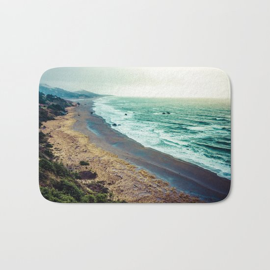 Good Morning Beach Bath Mat