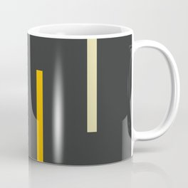 Abstract Minimal Retro Stripes Ashtanga Coffee Mug