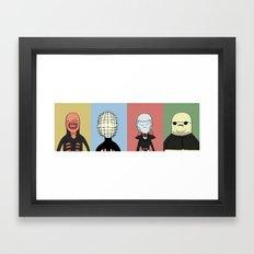 Adventure Time with Cenobites from Hellraiser Framed Art Print