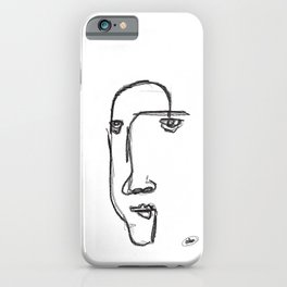Line me up iPhone Case