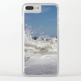 14 Days of Waves (1/14) Clear iPhone Case