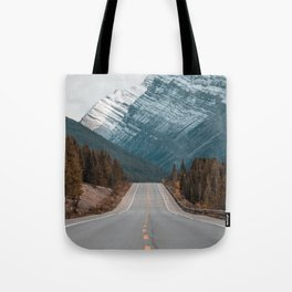 Road to the Mountain Tote Bag