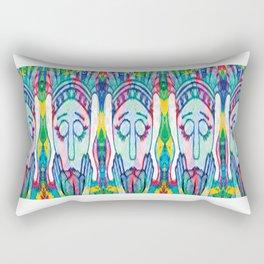 Kissed Tulips Logo Face Rectangular Pillow