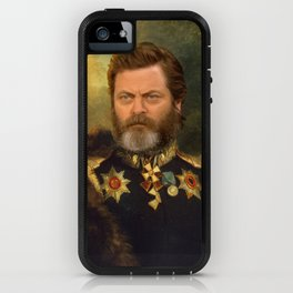 Nick Offerman Classical Painting Photoshop iPhone Case