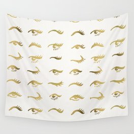 Mascara Envy – Gold Palette Wall Tapestry