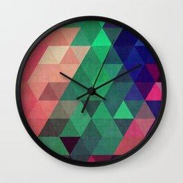 Geometric cosmos Wall Clock