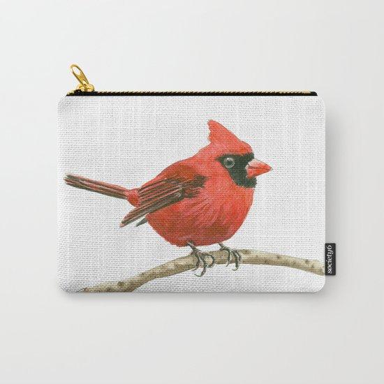 Cardinal bird Carry-All Pouch