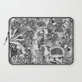 Monster Forest Laptop Sleeve