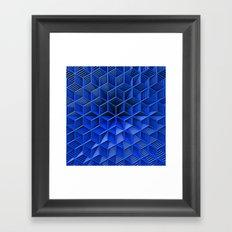 It's Blue Framed Art Print