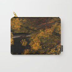 Autumn Leaves and Stream Carry-All Pouch