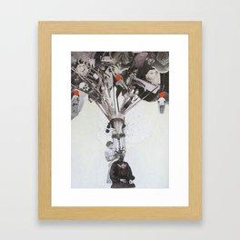Mind_Gap Framed Art Print