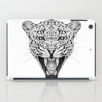 leopard iPad Cases featuring Leopard by Libby Watkins Illustration