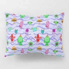 purple monster Pillow Sham
