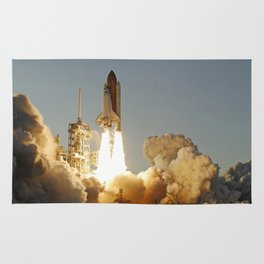 Space Shuttle Atlantis Rug