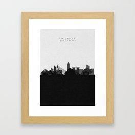 City Skylines: Valencia Framed Art Print