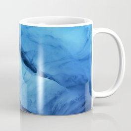 Blue ice of Blackcomb Glacier Ice Cave Coffee Mug