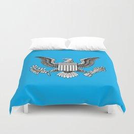 Blue American Eagle Duvet Cover