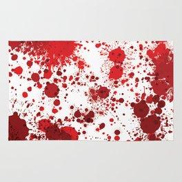 Blood Splatter Rug