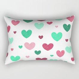 Watermelon ♥ Rectangular Pillow